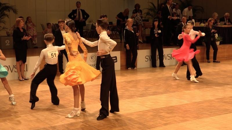 Bogdan Pop - Mara Lechintan ROU, Samba | GOC Juveniles II 8 Dance