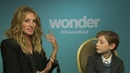 WONDER Interview: Andrew Freund chats with Julia Roberts and Jacob Tremblay