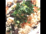 Плов с сушеной колбасой