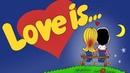 Картинка Любовь. Love is, 90е, 90-е, жевачка, фантик, детство.