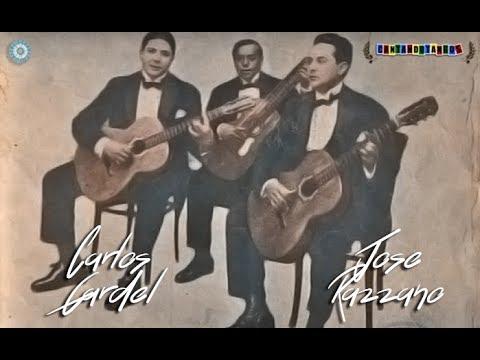 CARLOS GARDEL - JOSE RAZZANO - CLAVELES MENDOCINOS SERRANA IMPIA - ZAMBAS - 1929