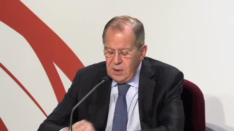 Пресс конференция Лаврова по итогам СМИД ОБСЕ в Милане