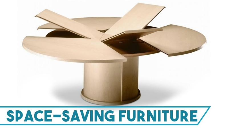 20 Space Saving Expandable Transforming Dining Tables - Product Design and Ideas