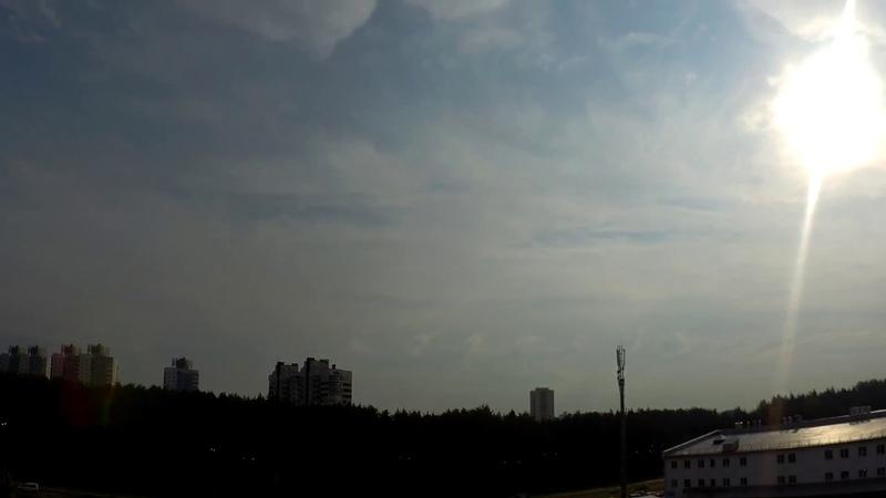 Неустойчивость Кельвина-Гельмгольца в Минске 22.09.2018
