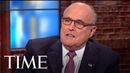 Rudy Giuliani On Changing Opinion Of Michael Cohen & He Is Not Sure If Collusion Is A Crime   TIME