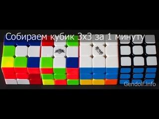 Обучение сборки 3х3 #3. OLL и PLL
