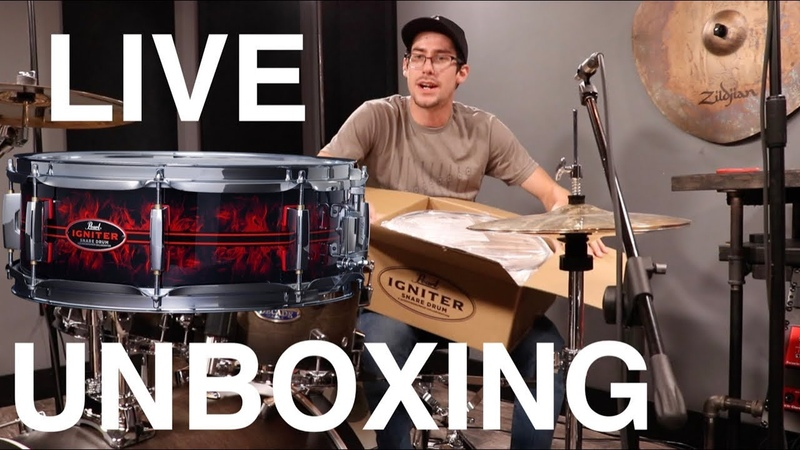 Unboxing my Igniter Snare LIVE GIVEAWAY