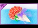 DIY How to make flower cone gift for Teachers' Day ENG Subtitles Speed up 401