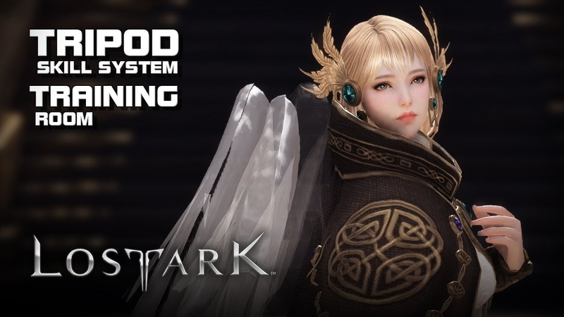 Lost Ark - Training Room (Summoner Skills) Tripod System - Final CBT - PC - F2P - KR