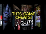 I'M DONE! NO MORE! FIVE NIGHTS at FREDDY'S