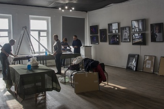 © Ирина Филатова Подготовка к выставке