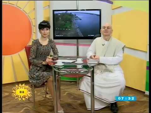 Ачьюта Прия дас - Ранок на Скифия ТВ. Херсон. 19.04.2017