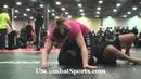 Triangle Choke from Mount - Kali Robbins - Finals Match - Arnold Grappling Championships - No Gi BJJ