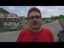Italy: Anti-fascists hold rally at traditional site of Lega marches