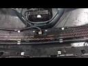 Toyota RAV4 установка сетки декоративно защитной в бампер. Подстраховка от пробоя радиатора