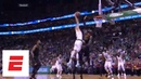 Jayson Tatum's posterizing dunk on LeBron James Angles and reactions from around the world ESPN