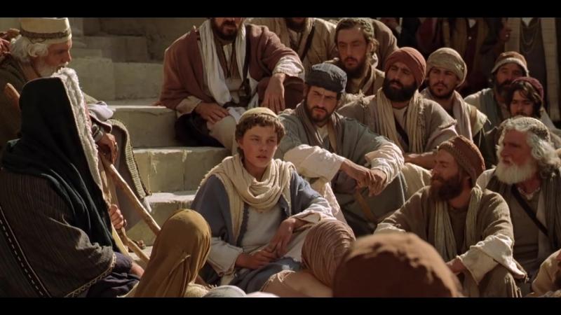 Юнный Иисус проповедует в храме