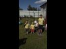 Ваня, Ильюша и Тимоша поздравляют Анисию с днём рождения.
