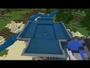 Самая лучшая ферма рыбы, черных мешков и костей в Minecraft Bedrock Edition в версии v 1.4.2 Aquatic apdate