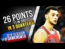 Zach LaVine Full Highlights 2018.10.08 Bulls vs Hornets - 26 Pts in 3 Quarters! | FreeDawkins