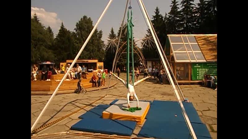 20 07 2019г Фестиваль Воздушных гимнасток Алёна г Кемерово Батутный парк Апачи гамп