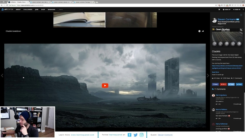 Visual Development and Matte Painting with Steven Cormann