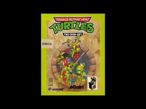 Old School {Amiga} Teenage Mutant Hero Turtles The Coin Op! ! full ost soundtrack