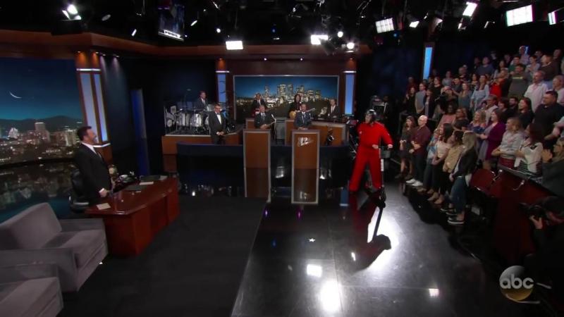 Эпичное появление Джима Керри на шоу Киммела.mp4