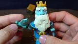 Королевский призрак из пластилина Clash Royal