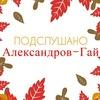 Подслушано с.Александров-Гай!