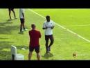 Франк Кесси на тренировке. ForzaMilan