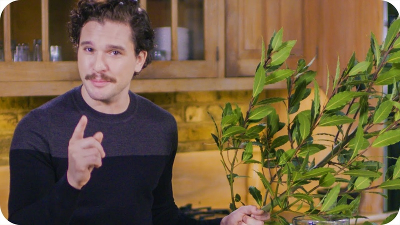 Kit Harington (Jon Snow) Knows Nothing About Tea Omaze
