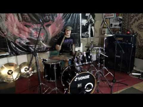 MORGENSTERN - ДИКИЙ кавер на барабанах