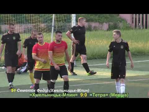 Хмельницьк Млин vs Тетра (Мевша) - 11:0 (24.06.2019) ЧХФ, 8-й тур