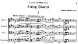 Samuel Barber - String Quartet in B minor, Op. 11 w score