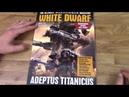 White Dwarf August 2018 Review Adeptus Titanicus