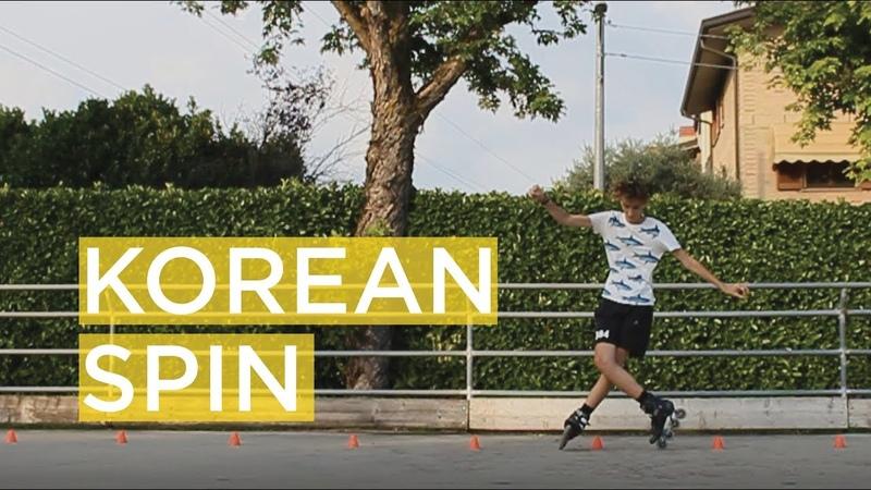 29_LORENZO GUSLANDI TEACHES THE KOREAN SPIN - SKATING TUTORIAL