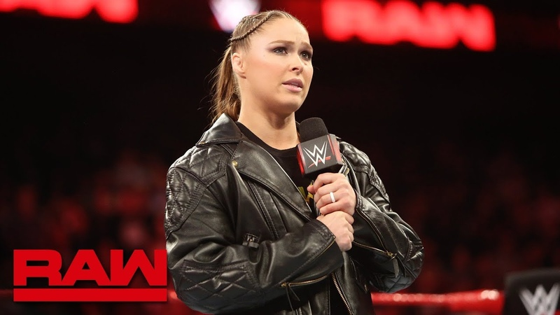Video@alexablissdaily | Ronda Rousey honors Jim The Anvil Neidhart Raw, Aug. 13, 2018