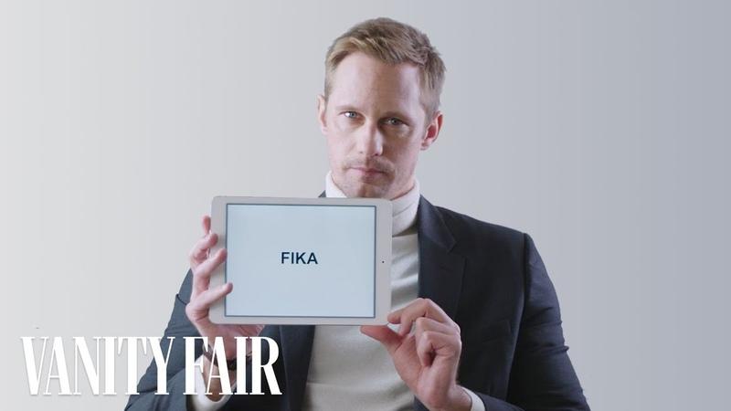 Alexander Skarsgård Teaches You Swedish Slang   Vanity Fair