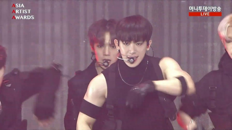 181128 Asia Artist Awards Intro Jealousy Shootout MONSTA X full cut Performance