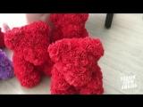 Мишки из роз - ручная работа Кемерово