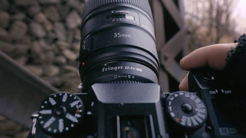 Adapting Canon Lenses to Fujifilm X-H1 - Fringer Pro