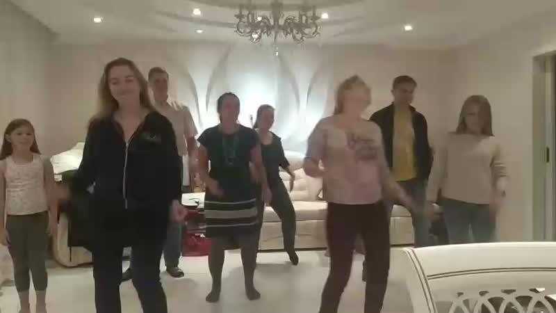 танец сосн.