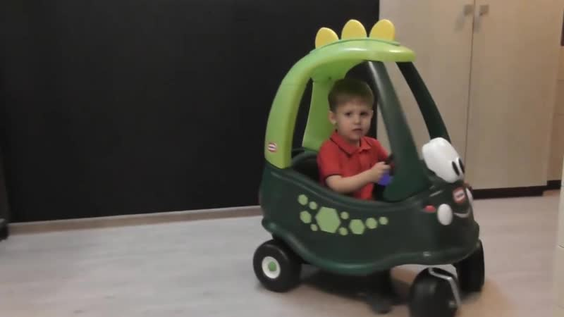Машинка Лител Тайкс Играем с машинкой Дино Литл Тайкс Little Tikes Dino 99345