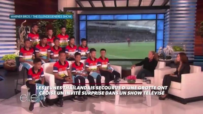 Златан Ибрагимович на шоу с детьми из Таиланда