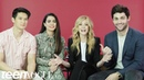Каст сериала «Сумеречные охотники» в студии глянца «Teen Vogue»