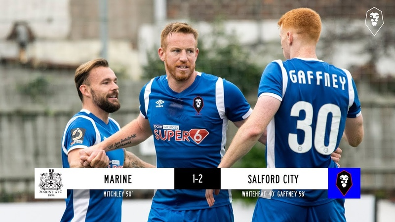 Marine 1-2 Salford City | Emirates FA Cup Fourth Qualifying Round