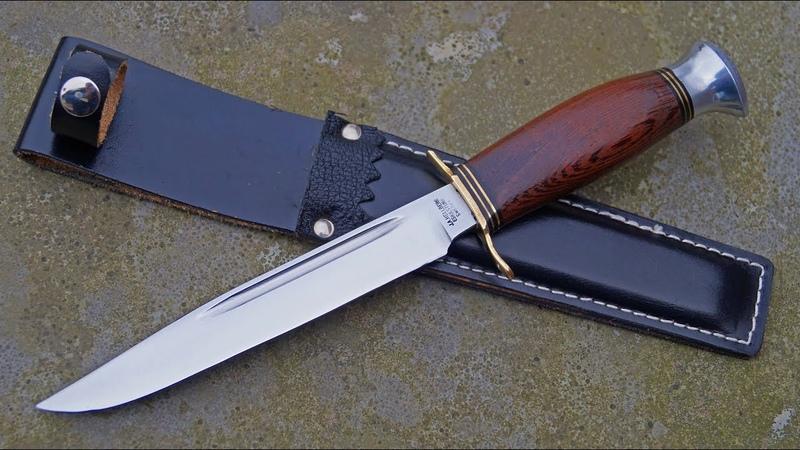 Hellberg Eskilstuna Sweden Bowie Slidkniv Schweden-Klingen-Messer Jagdmesser vintage knife
