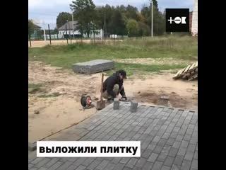 Низкий поклон таким людям. Лесоруб восстановил памятник ВОВ