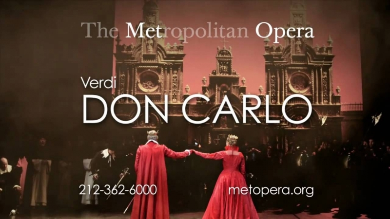 Don Carlo - Met Opera House- 19.10.2010